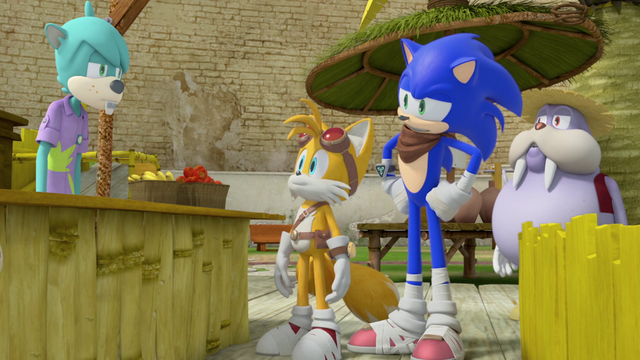 File:Sonic and Tails at Meh Burger.png