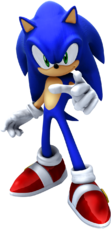 Sonic the Hedgehog Render