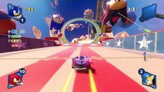 Team Sonic Racing Sky Road (Sonic) 1080 HD
