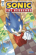 IDW Sonic The Hedgehog -1