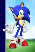 Sonic 20th Anniversary 3DSonic Wallpaper