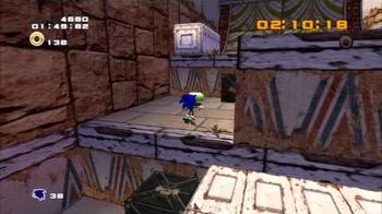 Sonic Adventure 2 (PS3) Pyramid Cave Mission 4 A Rank