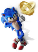 Sonic Film Sonic Artwork 5