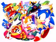 Sonic Screen Saver 29