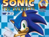 Archie Sonic the Hedgehog Issue 239