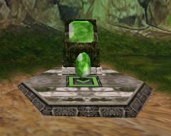 Wind Stone en Pedestal