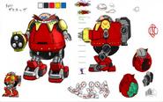 Death Egg Robot SG koncept