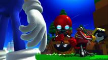 Eggman naprawia Cubota
