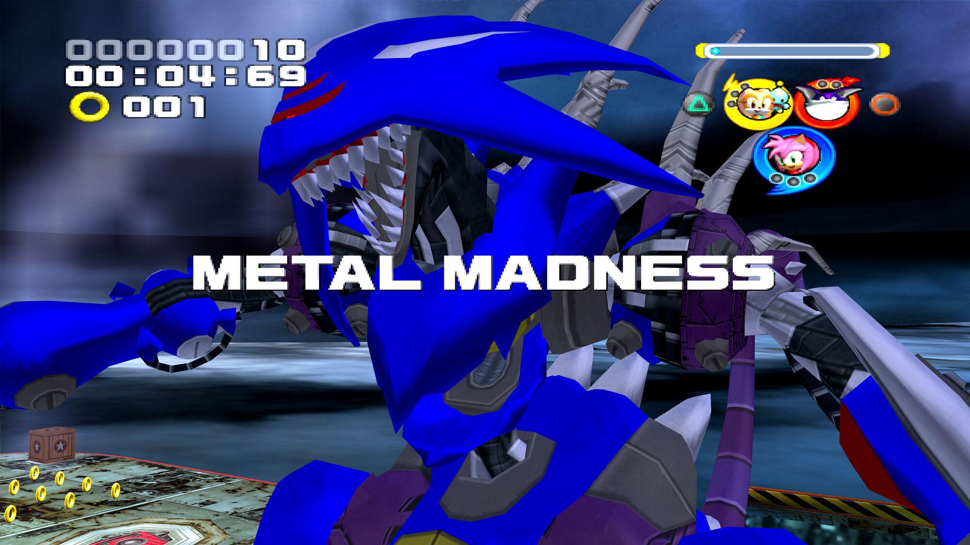 Metal Madness | Sonic News Network | FANDOM powered by Wikia