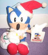 SegaSonic Xmas Sonic