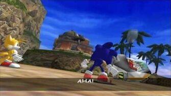 Sonic Adventure DX - Sonic Boss 2 - Egg Hornet