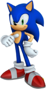 Sonic Channel 3D Sonic art 2