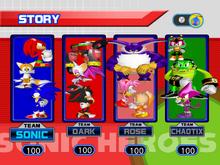 Sonic Heroes Story