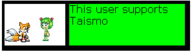 Userbox- Support Taismo