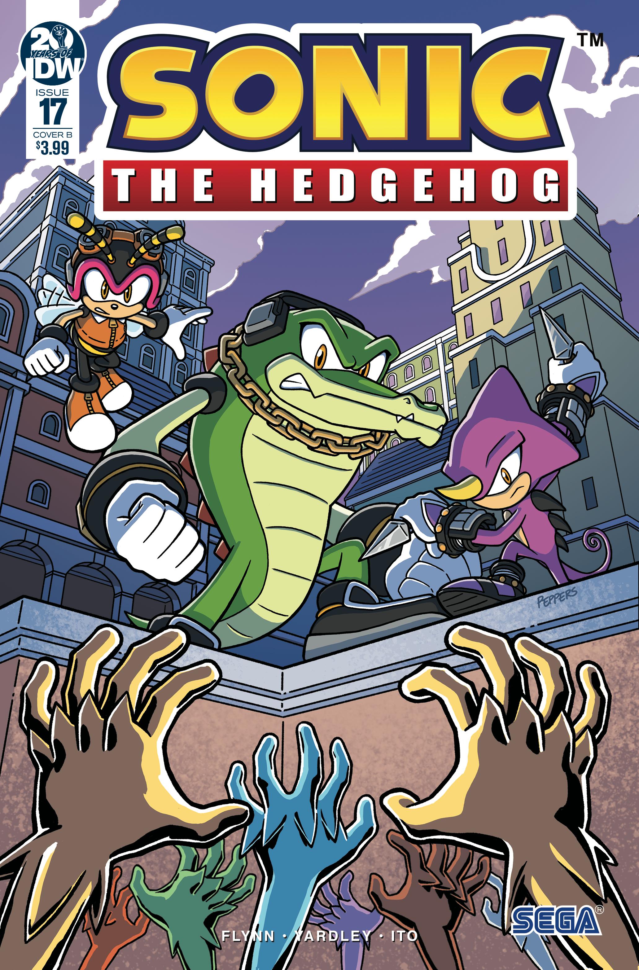 Idw Sonic The Hedgehog Issue 17 Sonic News Network Fandom