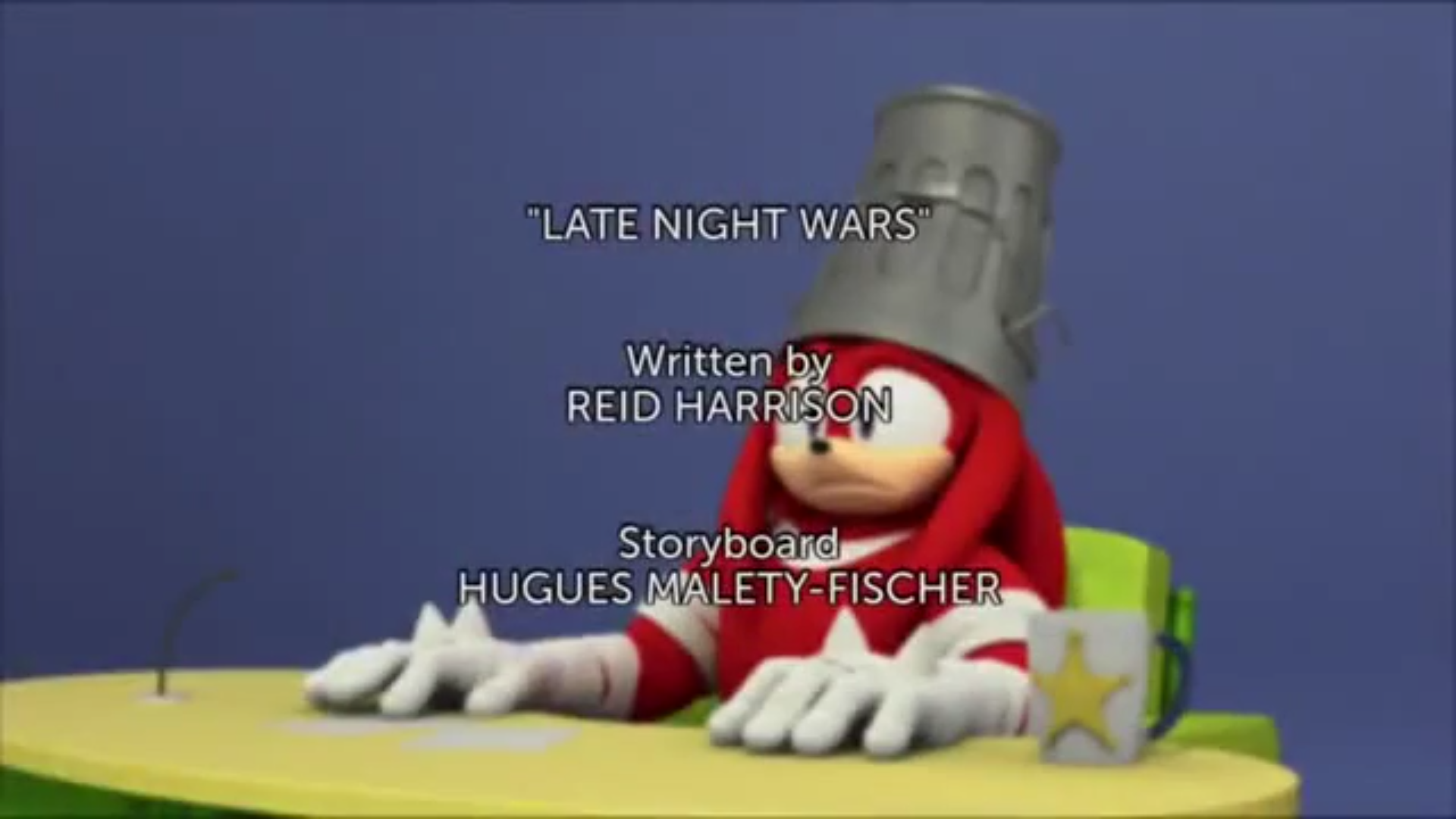 LNW title card