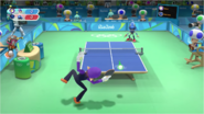 Mario & Sonic at the Rio 2016 Olympic Games - Waluigi VS Metal Sonic Table Tennis