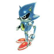 Metal Sonic CD concepts 6