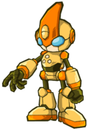 Emerl battle giant