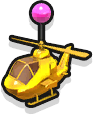 Helicopter - Gold