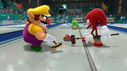 Knuckles and Wario