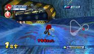 Mario Sonic Olympic Winter Games Gameplay 263