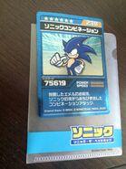 SonicBattle TradingCard