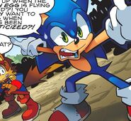 Sonic Silly Face
