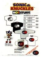 Sonic and Knuckles Hot Stuff front