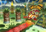 Tropical Resort koncept 2