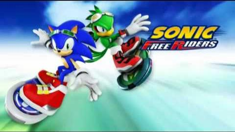 Free - Main Theme of Sonic Free Riders (Crush 40 Version)
