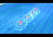 PeachDaisyAmyBlaze London2012 Screenshot 1(Wii)