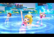PeachDaisyAmyBlaze London2012 Screenshot 5(Wii)
