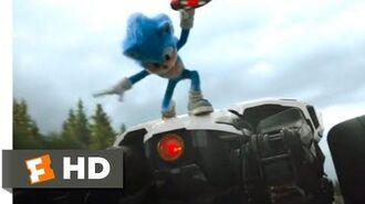 Sonic the Hedgehog (2020) - Sonic vs. Robotnik Scene (5 10) Movieclips
