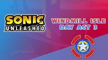 Windmill Isle Day Act 3 - Sonic Unleashed
