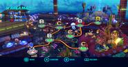 Aquarium Park Wii mapa