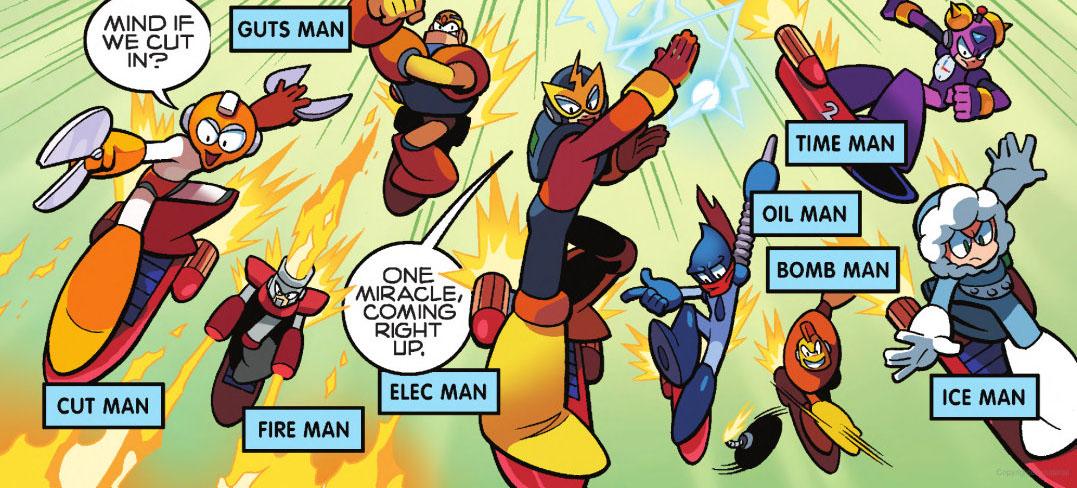 Image result for Megaman 1 Robot Masters
