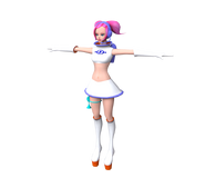 Sega Racing Model Ulala