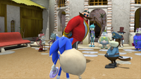 Sonic clears his name