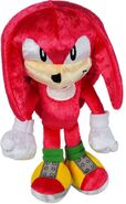 Tomy Sonic 25th Anniversary plush Knuckles