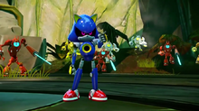 Metal Sonic Rise of Lyric