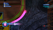 Pink Spikes Spin Dash Colors