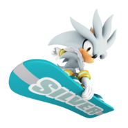 Silver-mario and sonic at the olympic winter games