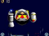 Silver Castle Zone boss