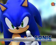 Sonic's Sonic 2006 wallpaper