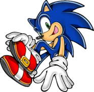 Sonic Adventure DX early art alternate