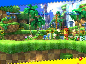 Sonic Generations 30 second trial