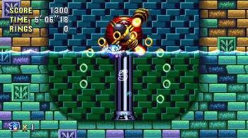 Sonic Mania Boss 14 - Whirlpool Machine