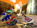 Sonic Riders - Rouge - Level 1