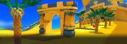 Expert Race 1 - Desert Ruins - Zone 1 - Screen 2